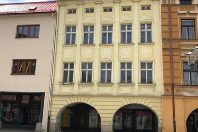 Rekonstruovaný dům na pěší zóně, náměstí Svobody 27, Frýdek-Místek, Místek., Ev.č.: 100684