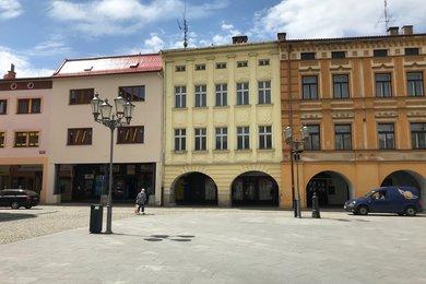 Obchodní prostory v domě na pěší zóně, náměstí Svobody 27, Frýdek-Místek, Místek., Ev.č.: 101684