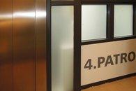 chodba před výtahem
