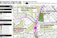 Metropolitní plán výkres
