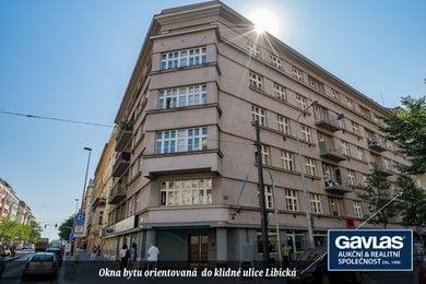 Byt 4 + 1 (120 m2) se sklepní kójí, Praha 3 – Vinohrady, Libická 12/Vinohradská 114, Ev.č.: P31175612