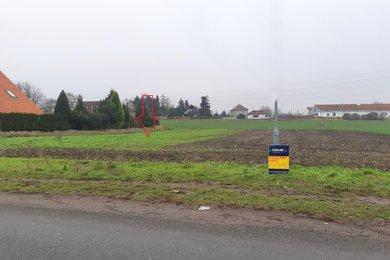 Pozemek 1 123 m2 k výstavbě RD - Louny, Ev.č.: P/1/2/2021