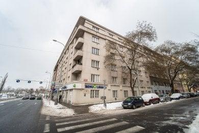 Pronájem zrekonstruovaného 1+kk (25 m2) Praha 3 - Žižkov, Jana Želivského 22, Ev.č.: P3V2180106