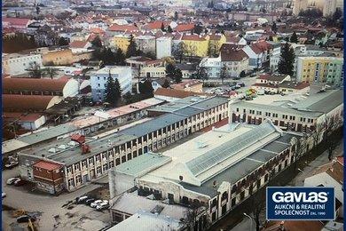 Výrobně-skladovací areál včetně strojního vybavení a věcí movitých, UP 3590 m2, ul. Vrahovická 4308, Prostějov, Olomoucký kraj, Ev.č.: 60293