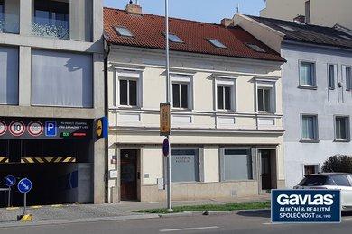 Praha 5 - prodej činžovního domu 345 m2 s obchodem v přízemí, Ev.č.: 60300-1