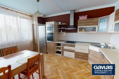 Byt 2+1, podlahová plocha 74 m2, ul. Lonkova 466, Pardubice II-Polabiny, Ev.č.: 60301