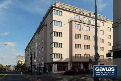 Pronájem zrekonstruovaného 1+kk, 37 m² , Praha - Vinohrady, Písecká 20, Ev.č.: P3V6234129