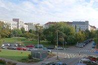 Výhled na Žižkovo náměstí