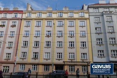 Pronájem zrekonstruovaného 1+kk, 19 m², Praha - Žižkov, Jana Želivského 18, Ev.č.: P3V6176821