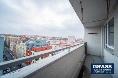 Pronájem zrekonstruovaného 2+kk, 51 m², s lodžií a sklepem, Praha – Žižkov, Táboritská, Ev.č.: P3V61678