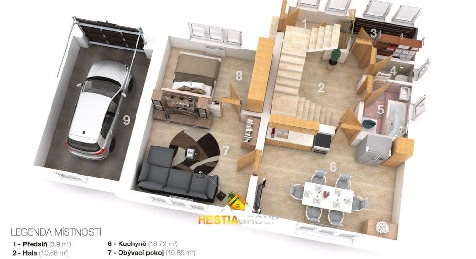 3D-layout 1np