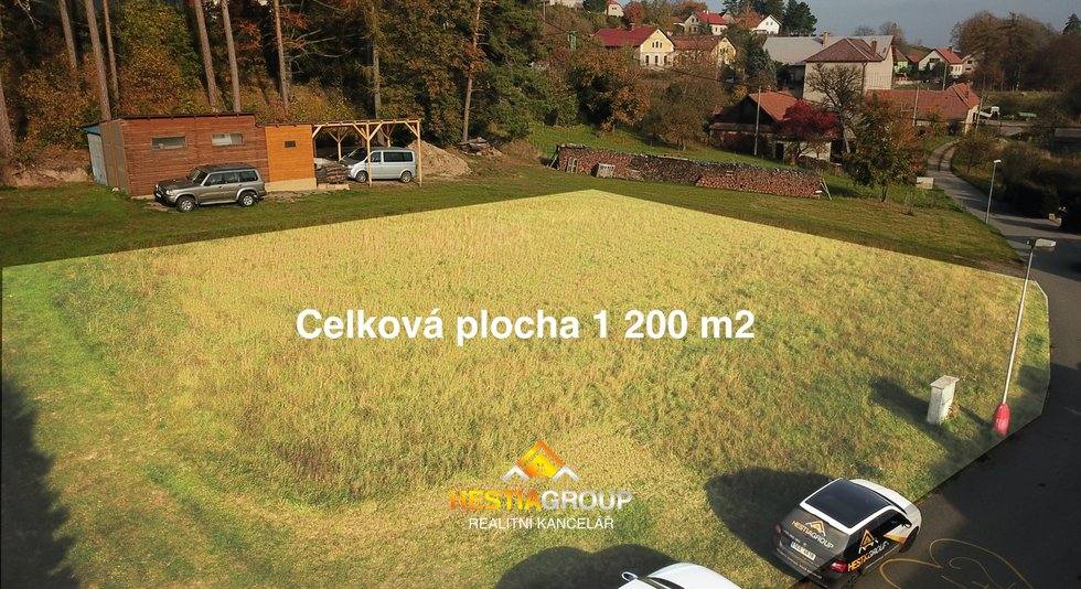 Prodej pozemku Budislav