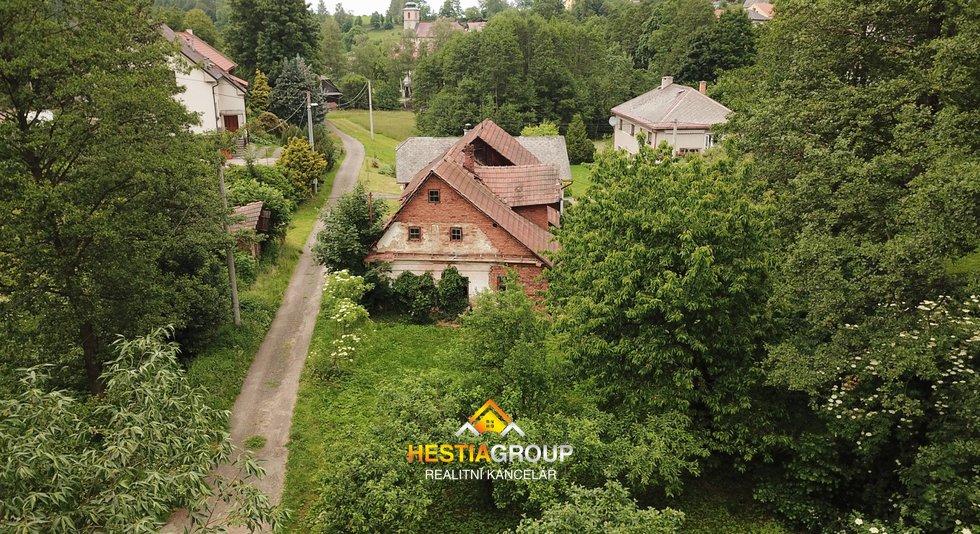 Prodej pozemků Bystřec