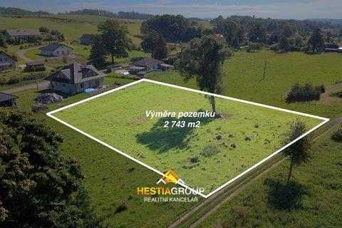 Pozemky pro bydlení, 2743m², Ostrov