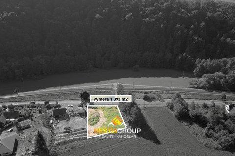 Pozemky pro bydlení, 1393m², Ústí nad Orlicí - Černovír