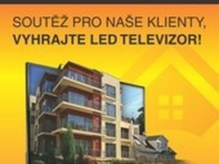 Soutěž o LED televizi pro každého, kdo nám svěří k prodeji svou nemovitost
