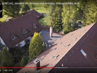 Nová služba: Videoprohlídka nemovitosti dronem.