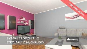 Prodej bytu 3+kk, 83 m² - Chrudim IV