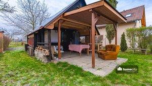 Prodej pozemku s chatou, 431 m² - Pardubice