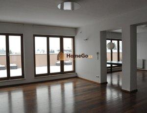 Dlouhodobý pronájem bytu v novostavbě 4+kk, 177m2, terasa 42,57m2, garáž 21m2, ul. BUDČICKÁ