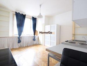 Dlouhodobý pronájem bytu 1+kk, metro Želivského, Vinohrady, ul. KOUŘIMSKÁ