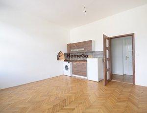 Dlouhodobý pronájem bytu 1+kk, tramvaj Hostivařská, vlak Praha Hostivař, ul. Hornoměcholupská