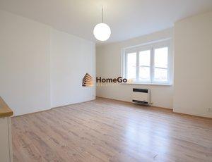 Dlouhodobý pronájem nákladně nově zrekonstruovaného bytu 1+kk, dokončeno a volné ihned