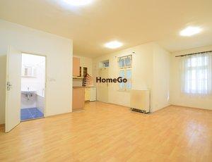 Dlouhodobý pronájem zrekonstruovaného otevřeného bytu 1+kk, pro jednoho nebo pár, ihned nebo od července, minimálně na rok
