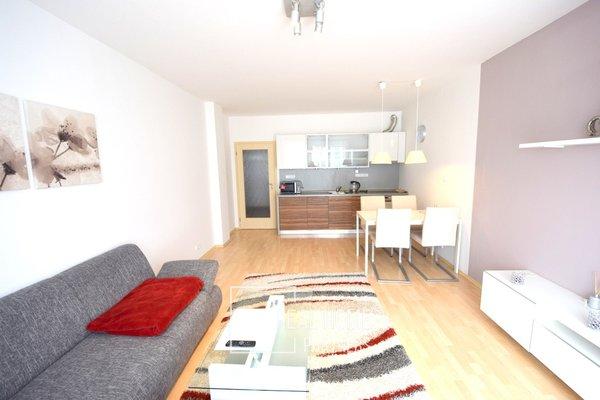 Pronájem byt 2+kk, 63 m², s terasou, garážovým stáním, K Rybníku, Brno - Medlánky