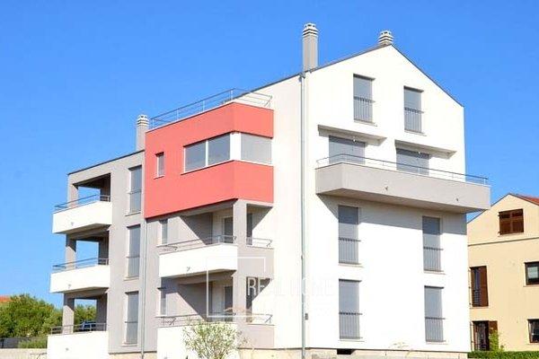 Prodej cihlový byt - apartmán v OV 2+kk, 50m² s terasou, parkovacím stáním, Sukošan, Zadar, Chorvatsko