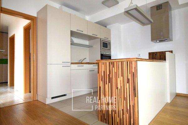Pronájem, novostavba byt 3+kk, klimatizace, lodžie, parkovací stání, sklep,  CP 80 m² , Brno - Komín