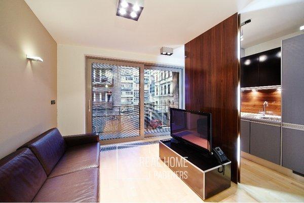 Pronájem, Byt 1+kk, balkon, klimatizace, CP 37 m² Brno - střed, ul. Kopečná