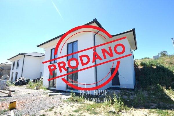 Rodinné domy novostavby 4+kk Drásov u Brna