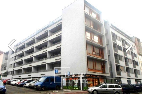 Novostavba, byt OV 2+kk, balkon,  CP 55 m2, Brno - střed, ul. Vodní