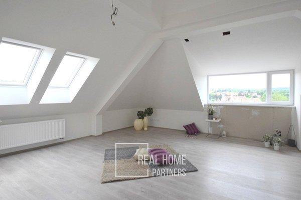 Prodej novostavba byt 3+kk, 2 x koupelna, terasa, balkon, 2 x parkovací stání, sklep, CP 111 m², Brno - Bystrc