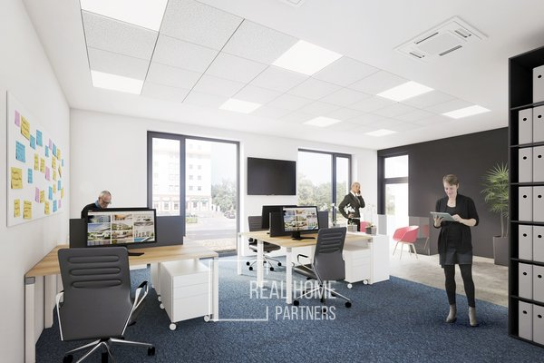 Pronájem komerční prostory s terasou - ordinace, obchod, kancelář 115,8 m2, Gajdošova, Brno - Židenice