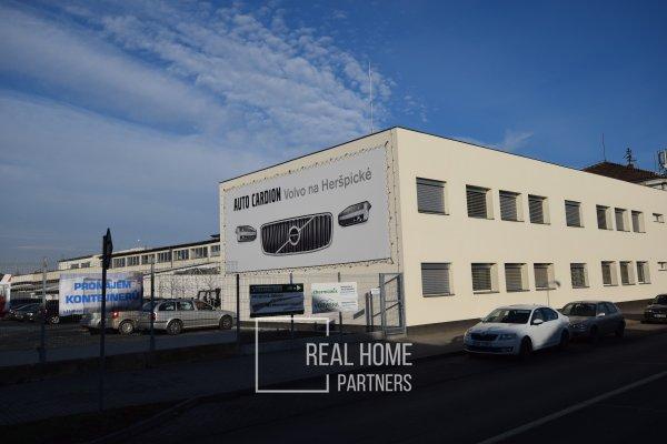 Pronájem výrobní haly a kanceláří, CP 276 m2, ul. Sokolova, Brno – Horní Heršpice