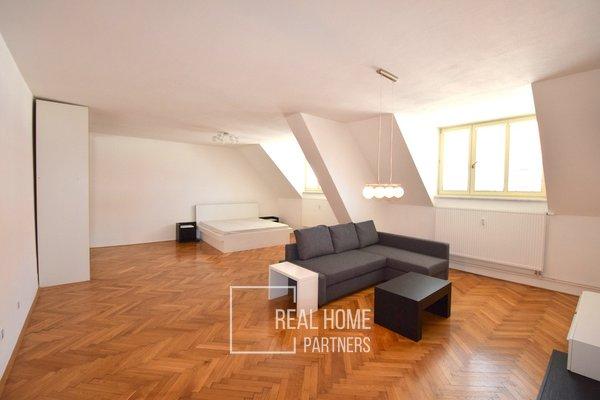 Pronájem cihlový byt 2+kk, 70 m², Masarykova  ul., Brno - střed