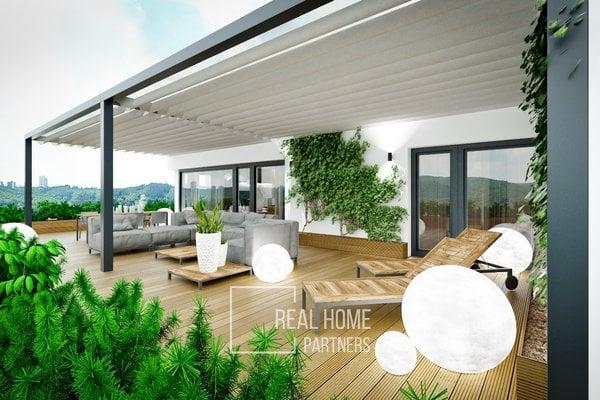 Prodej novostavba 3+kk 89 m2 plus terasa 7,5 m2, garážové stání, Vinařská, Brno - Stránice