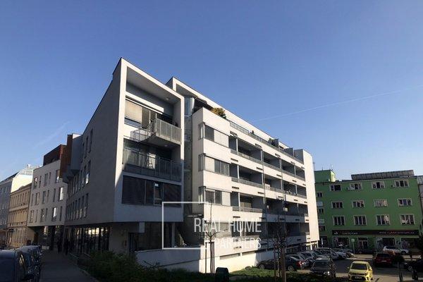Novostavba, byt OV 2+kk, balkon, šatna, CP 55 m2, Brno - střed, ul. Kopečná