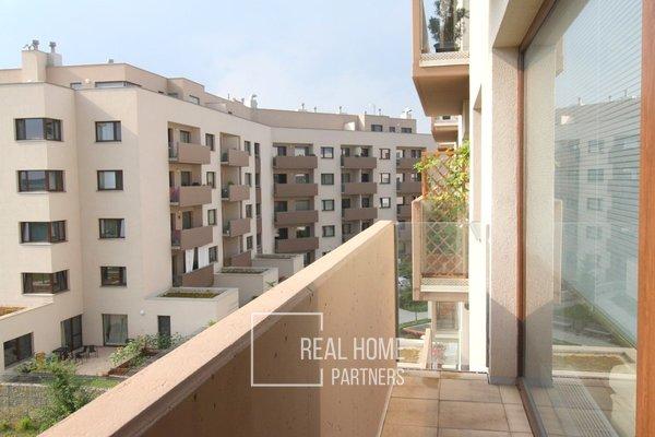 Pronájem, novostavba Byt 3+kk, balkon, garážové stání, sklep, CP 82m², Brno -Slatina