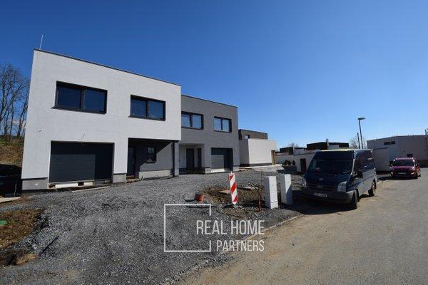 Prodej novostavby RD 4+kk s garáží, CP 450 m², Sobotovice, Brno - venkov
