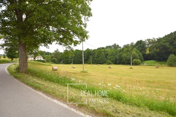 Prodej stavební parcela 1458 m2, Prostřední Lipka, Králiky, Dolní Morava