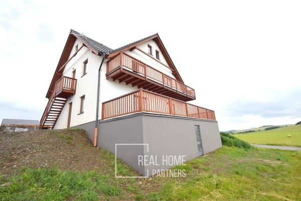 Prodej horský apartmán - novostavba 3+kk 95 m2 s parkovacím stáním, Malá Morávka, Jeseníky