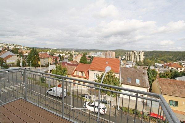 Pronájem bytu 2+kk, 80m², novostavba vč. parkovacího místa, Brno - Řečkovice