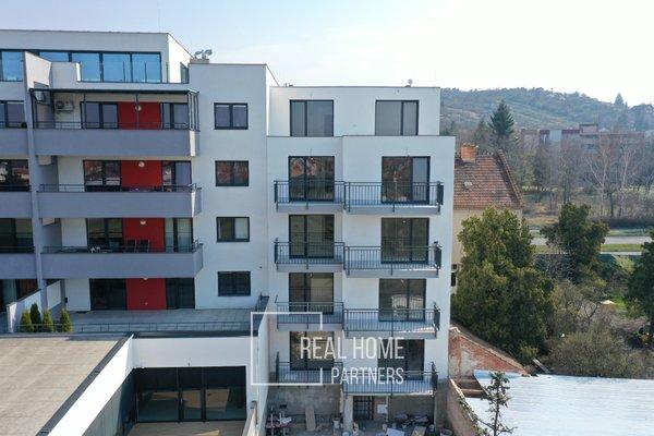 Prodej novostavby 1+kk s terasou a šatnou v novém projektu o výměře 46,2 m2