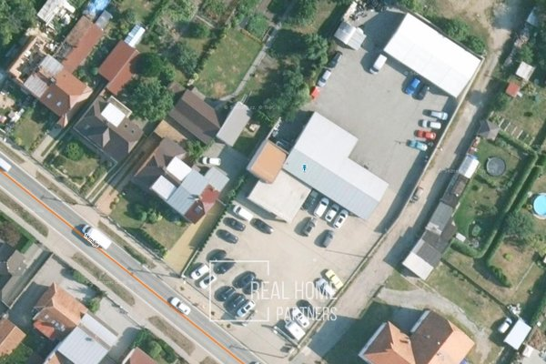 Pronájem výrobních (komerčních) prostor, CP 2.996 m2, Zastávka, okres Brno-venkov