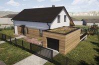 Prodej novostavba rodinný dům 5+kk se zahradou 673 m2, garáží, Krumvíř, okr. Břeclav