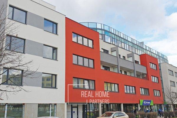 Prodej obchodních prostor, CP 54 m2, novostavba, ul. Gajdošova, Brno – Židenice