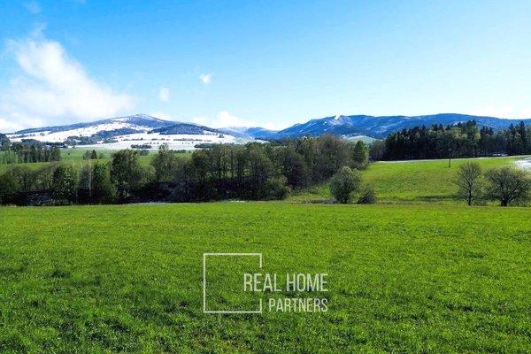 Prodej stavební parcela 3363 m2, Prostřední Lipka, Králiky, Dolní Morava